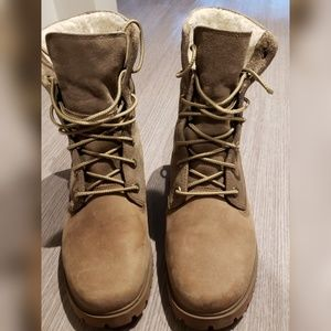 Timberland Jayne Waterproof Fleece Boots